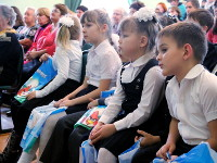 День небесного покровителя отмечает частная школа в честь преподобного Сергия Радонежского