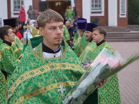 Память «игумена земли русской» почтили в Вознесенском кафедральном соборе