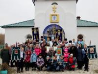 Божественная Литургия архиерейским чином состоялась в храме села Повозочное