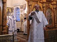 Заупокойное богослужение в Вознесенском кафедральном соборе