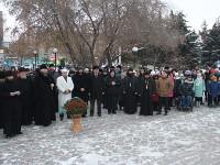 Управляющий Петропавловской и Булаевской епархией Преосвященнейший епископ Владимир посетил премьеру фильма «28 панфиловцев»
