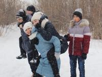 Зимний поход скаутского отряда «Дельта»