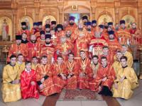 Соборная Божественная Литургия состоялась в кафедральном соборе Вознесения Господня