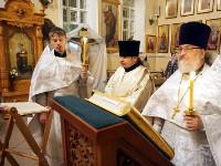 Рождественский сочельник в Вознесенском кафедральном соборе