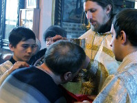 Служение Преосвященного Владимира в Рождественский сочельник