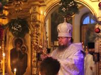Праздник Рождества Христова в храме Всех Святых