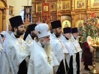 Рождественская Великая Вечерня в кафедральном соборе