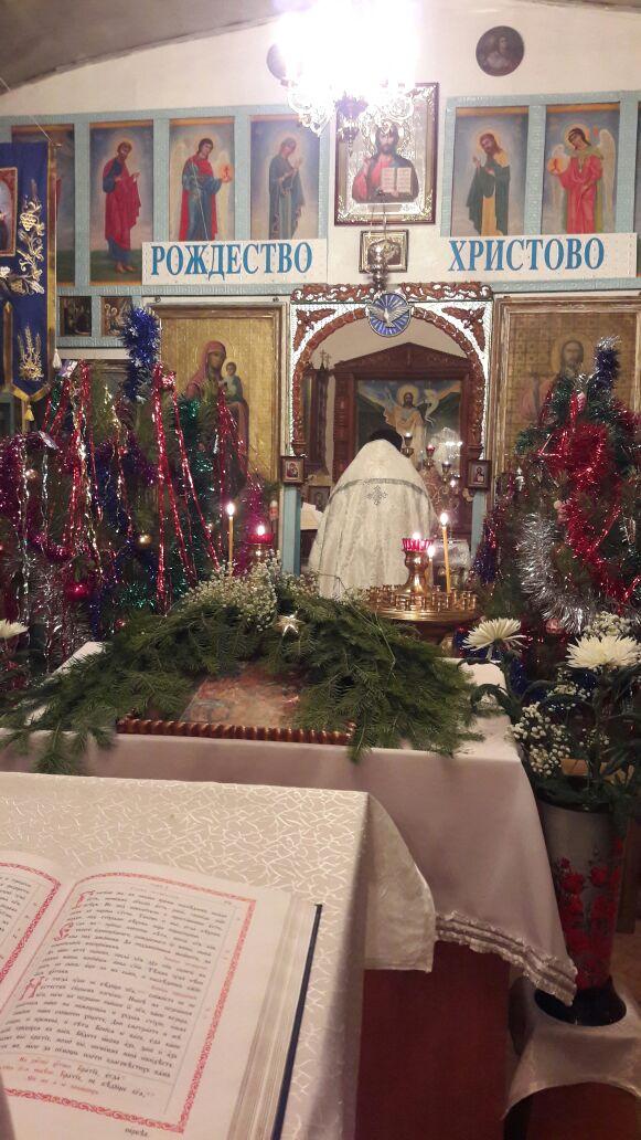 Рождество Христово в Тайыншинском районе