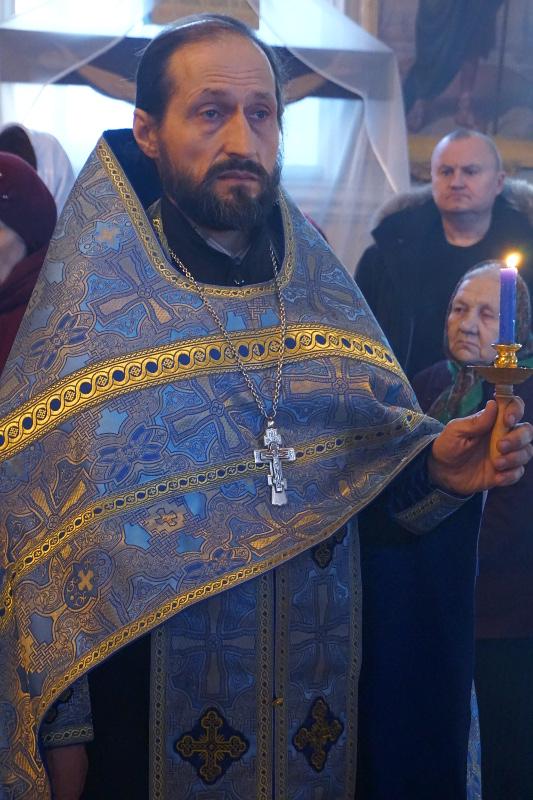 Неделя о Страшном суде в Вознесенском кафедральном соборе