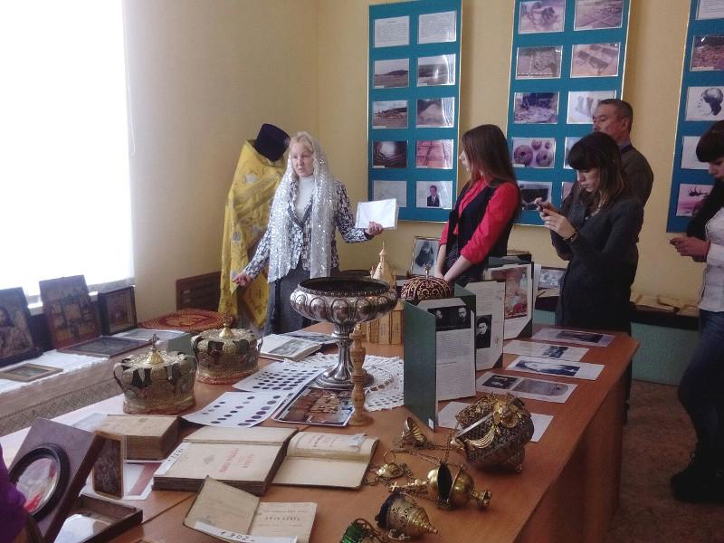 Православная выставка в «Историко-краеведческом музее района Магжана Жумабаева»