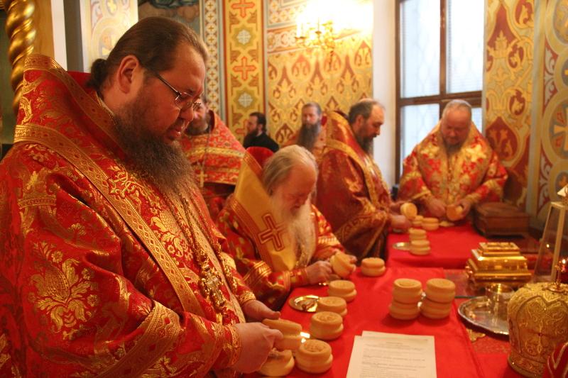 Торжества в честь мученицы Агафии Панормской