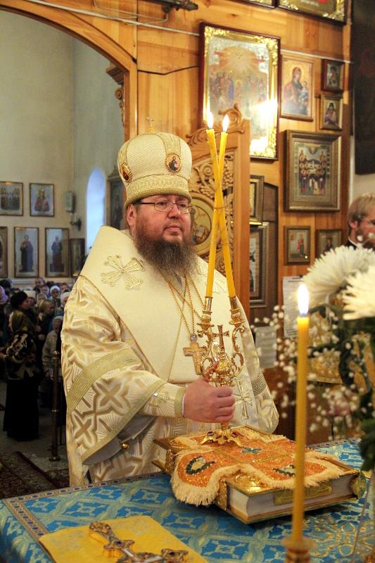Архиерейское богослужение в Сырную Неделю