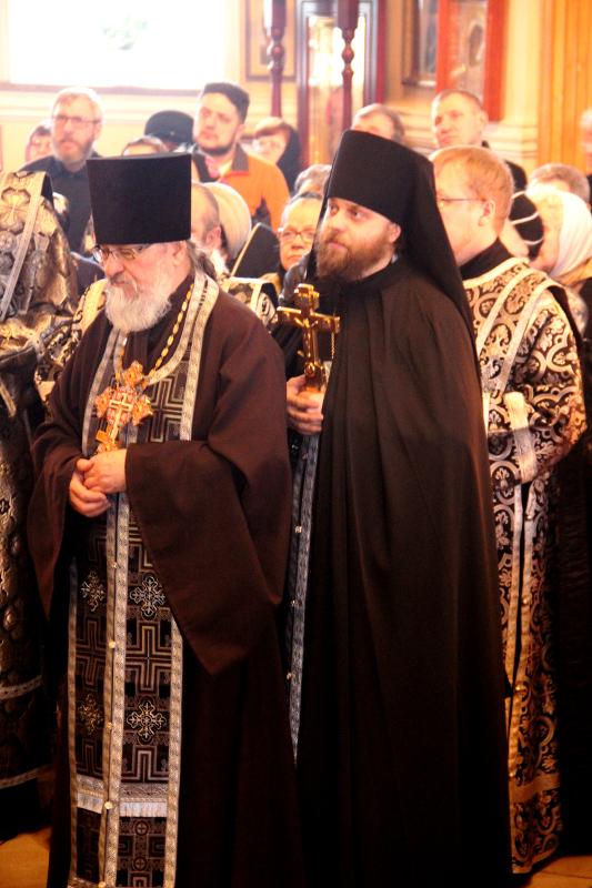 Прощеное Воскресенье в Вознесенском кафедральном соборе
