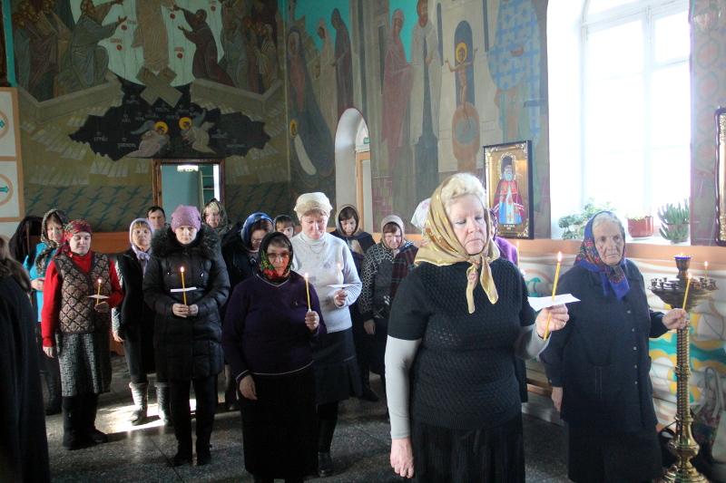 Чтение канона прп. Андрея Критского во вторник Великого Поста