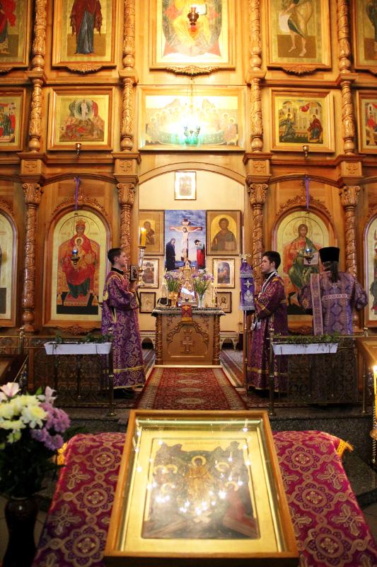 Служение Преосвященного епископа Владимира в I неделю Святого Поста