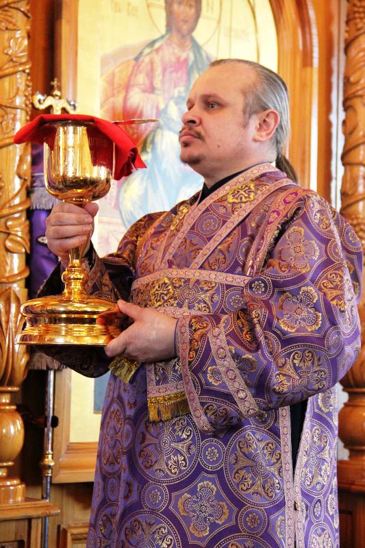 Крестопоклонная неделя в кафедральном соборе