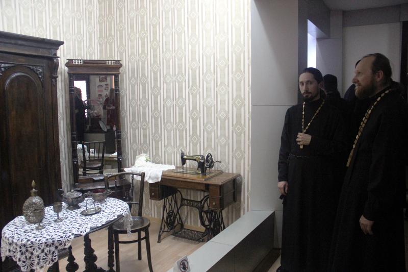 Духовенство епархии посетило Северо-Казахстанский областной краеведческий музей