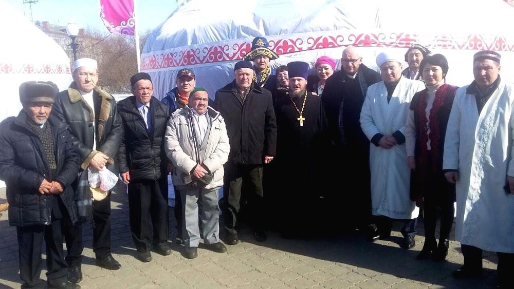 Праздник Наурыз в Петропавловске