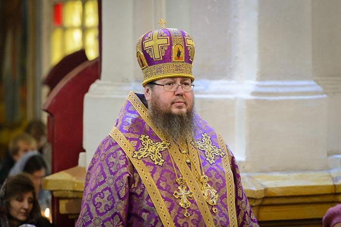 В неделю 4-ю Великого поста правящий архиерей Петропавловской и Булаевской епархии сослужил Главе Митрополичьего округа Казахстана