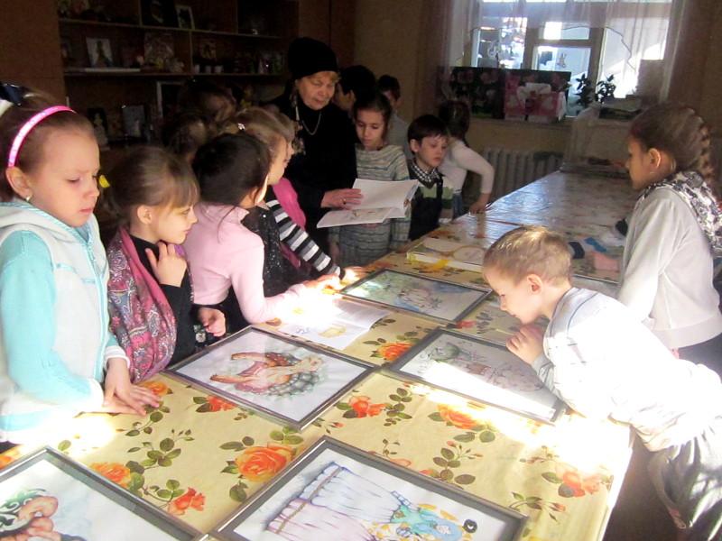 Праздник День Православной книги в воскресной школе собора Петра и Павла