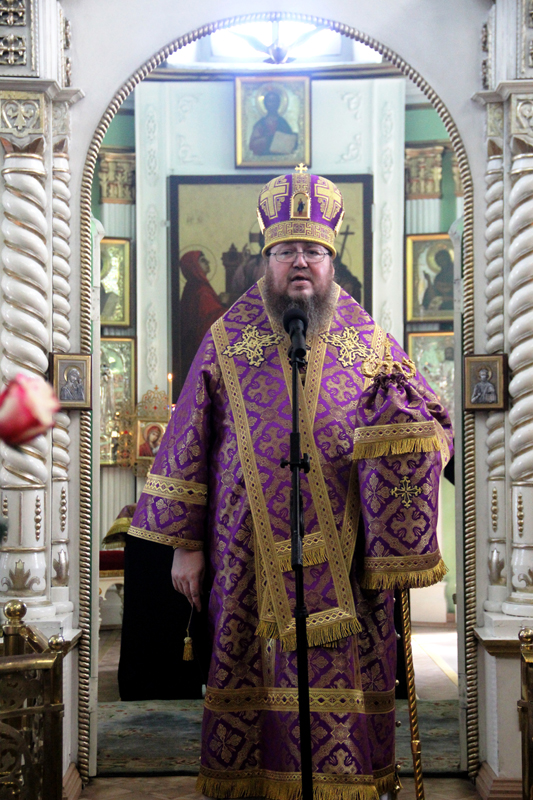 Божественная Литургия в V неделю Святого поста
