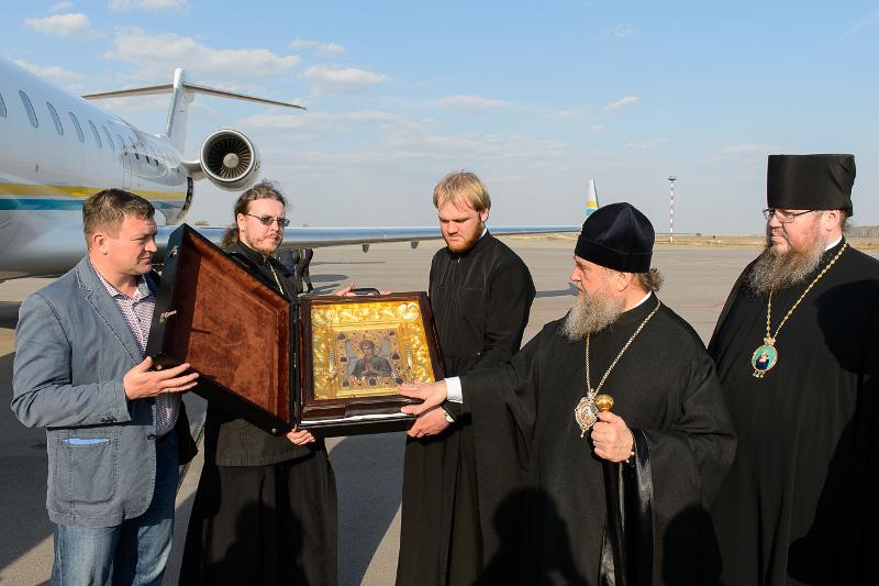Икона Пресвятой Богородицы «Умягчение злых сердец» прибыла в Петропавловск