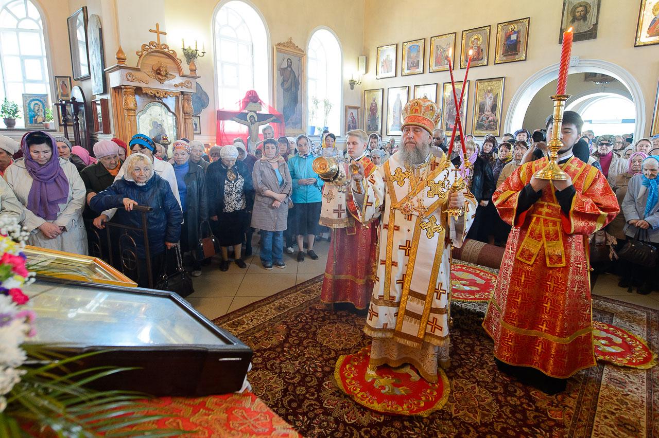 Продолжается пребывание иконы «Умягчение злых сердец» в Петропавловской и Булаевской епархии