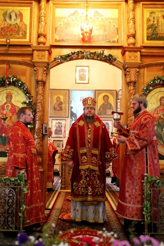 Праздник Преполовения в кафедральном соборе