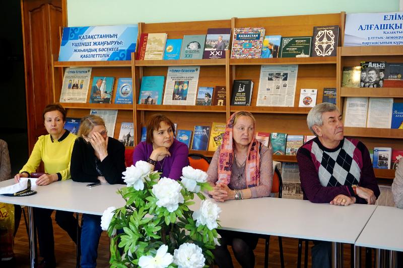 Творческий вечер поэтессы Татьяны Пенькошиной состоялся в Петропавловске