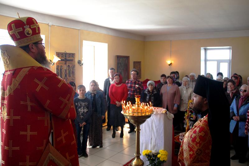 Неделя о самаряныне в Серафимовском храме села Смирново
