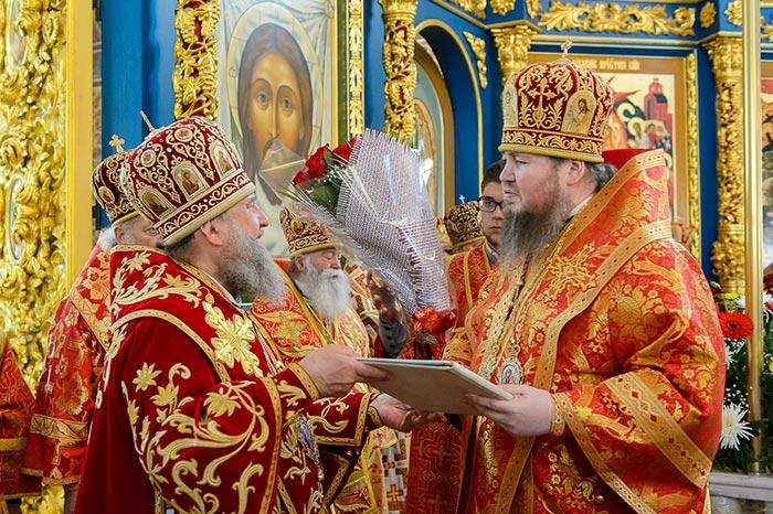 Божественная Литургия в память 145-летия учреждения Туркестанской епархии состоялась в Казахстанской столице