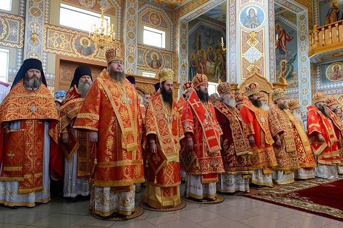 Божественная Литургия в память 145-летия учреждения Туркестанской епархии состоялась в Южной столице Казахстана — Алма-Ате