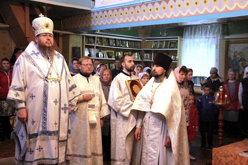 Визит Управляющего епархией в Новоишимское благочиние
