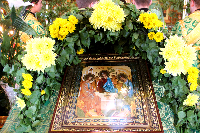 Праздник Святой Троицы в кафедральном соборе