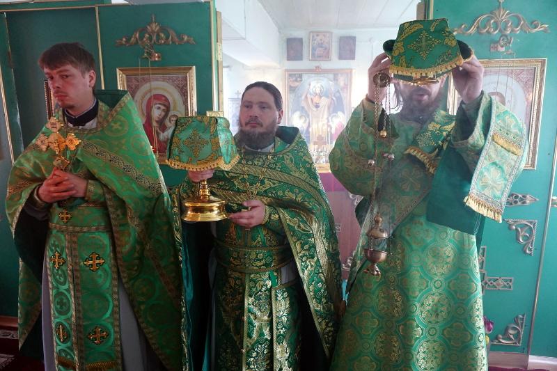 Престольный праздник блж. Ксении Петербургской в с. Петерфельд