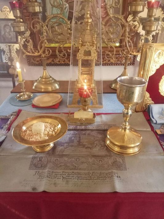 ПРАЗДНИК ПОКРОВА ПРЕСВЯТОЙ БОГОРОДИЦЫ В ГОРОДЕ ТАИЫНША