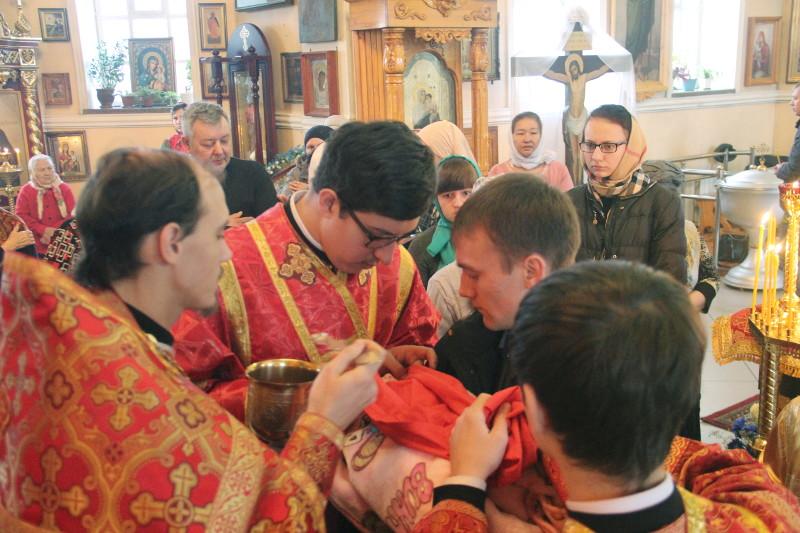 Архиерейское богослужение в день святой Параскевы