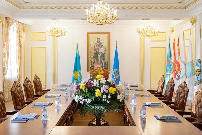 В Астане состоялось заключительное в 2017 году заседание Синода Митрополичьего округа Русской Православной Церкви в Республике Казахстан