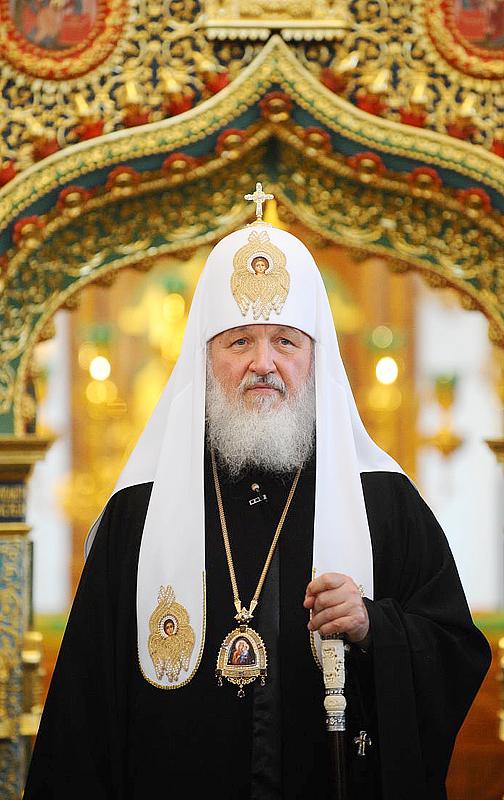Святейший Патриарх Московский и всея Руси Кирилл направил благодарность Президенту Казахстана Н. А. Назарбаеву за приветствие Архиерейскому Собору Русской Православной Церкви