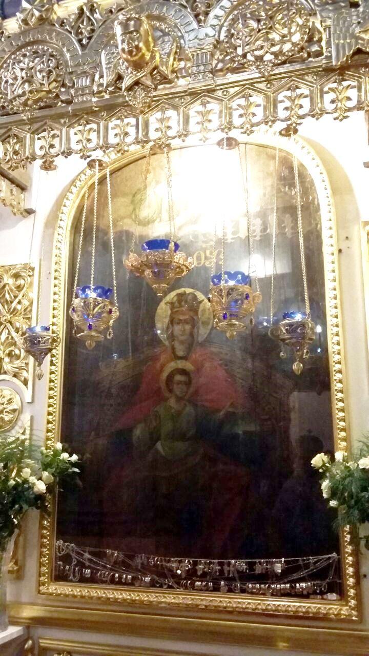 Преосвященнейший епископ Владимир посетил Казанский храм в Коломенском