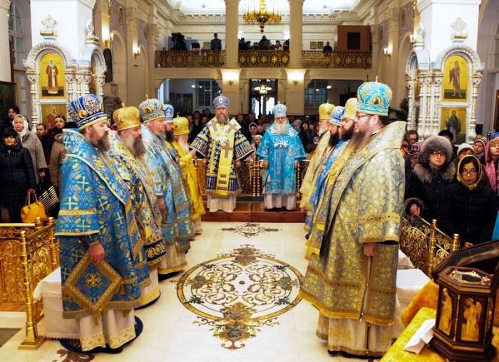 Преосвященнейший епископ Владимир принял участие в праздновании 145-летия Туркестанской епархии в Ташкенте