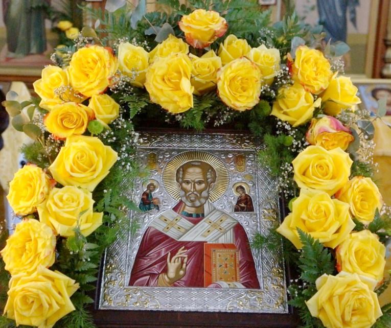 Праздничное богослужение в день памяти святителя Николая в Вознесенском кафедральном соборе