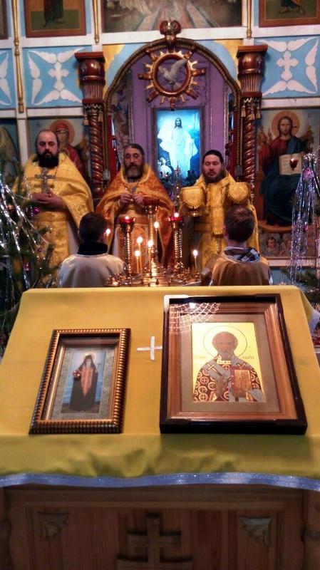 Престольный праздник в Новоникольком
