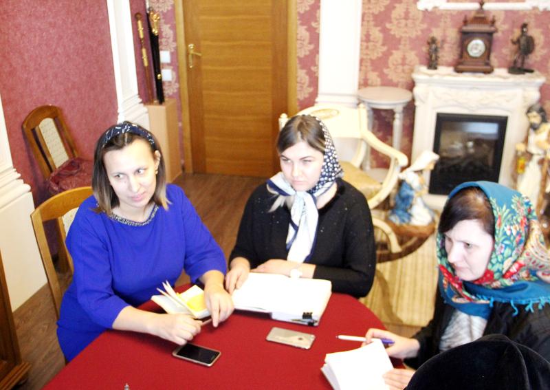В Петропавловском Епархиальном управлении состоялось заседание оргкомитета по подготовке к Рождественским праздникам