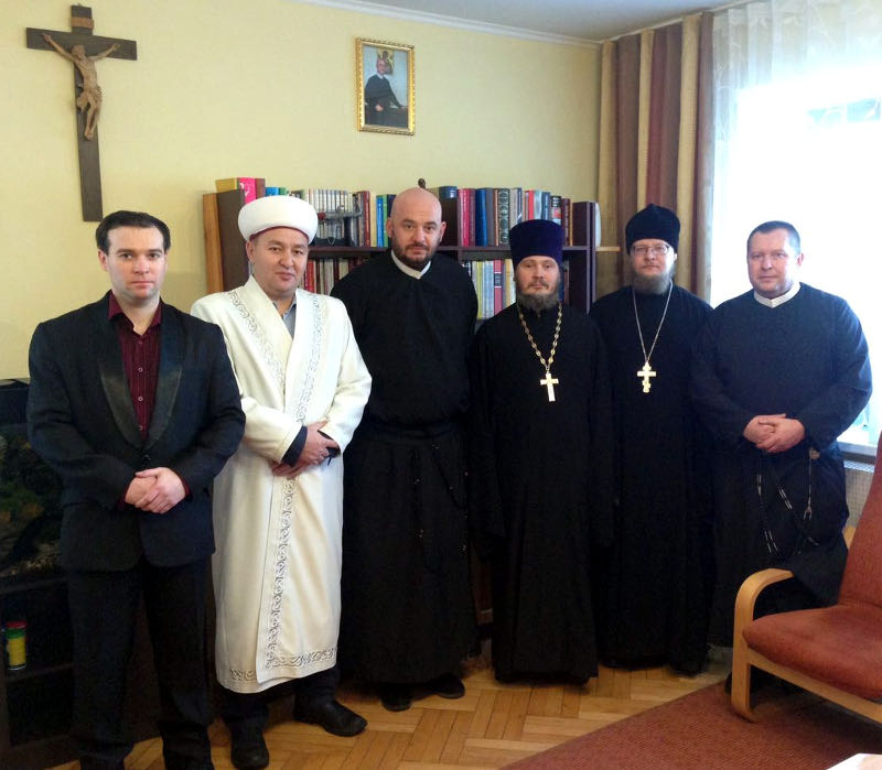 Представители Православной Церкви Северного Казахстана поздравили католиков области с праздником Рождества Христова