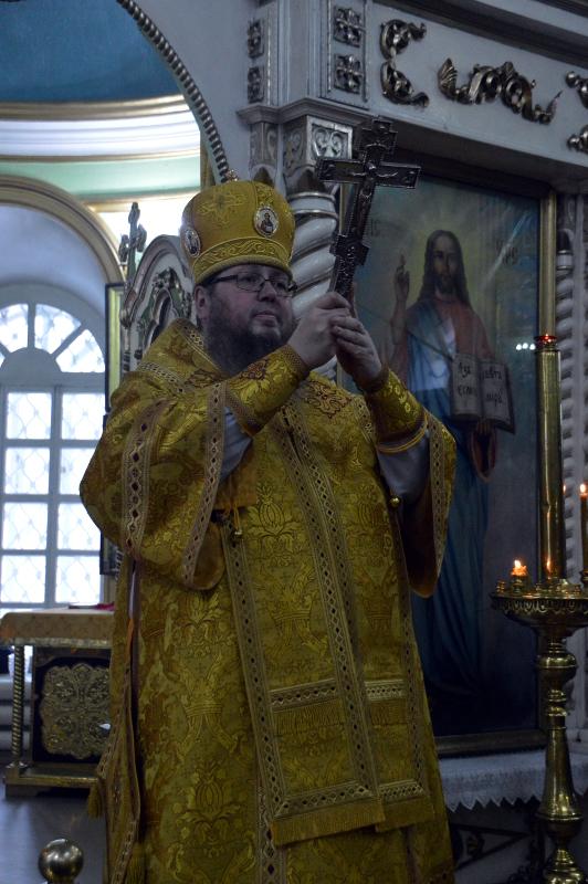 Архиерейское богослужение XXX недели по Пятидесятнице