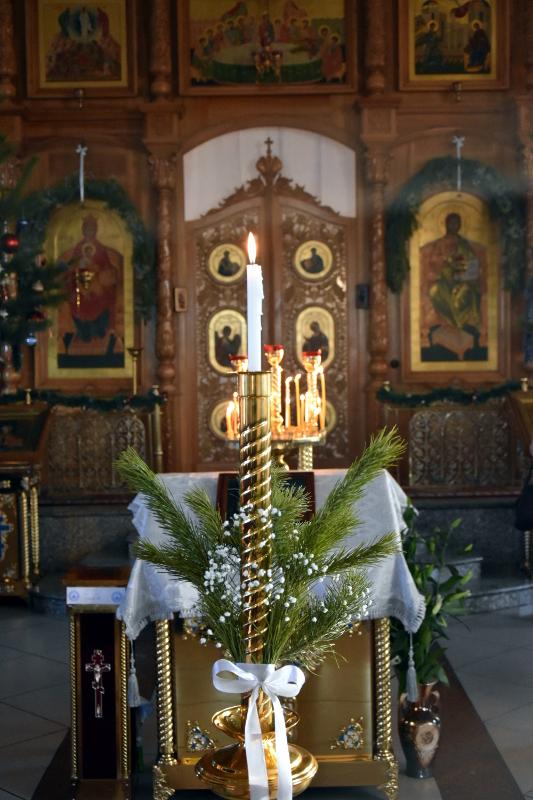 Божественная литургия в Рождественский Сочельник