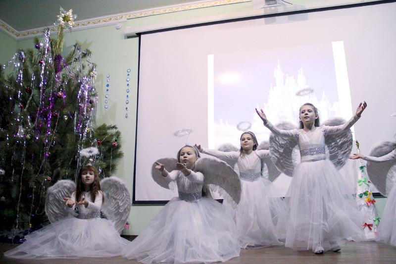 Детский праздник в честь Рождества Христова