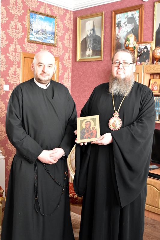 Православных Северного Казахстана поздравили представители традиционных конфессий