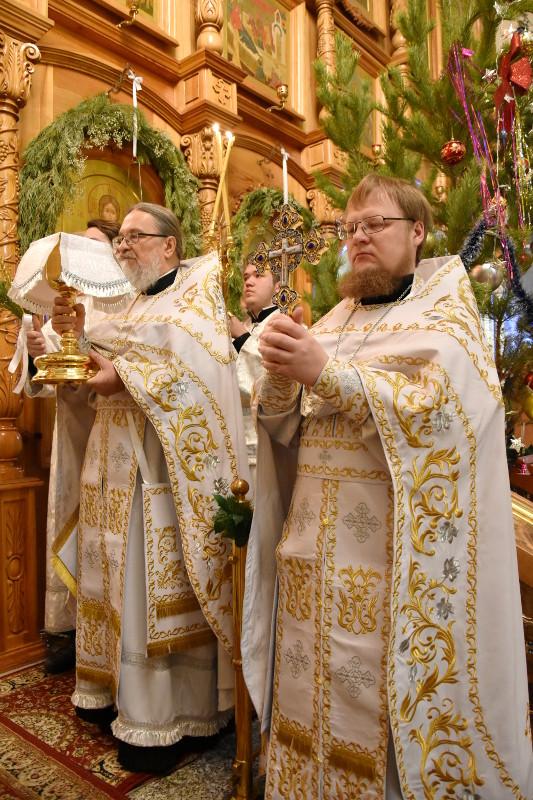 Праздник Богоявления Господня в кафедральном соборе